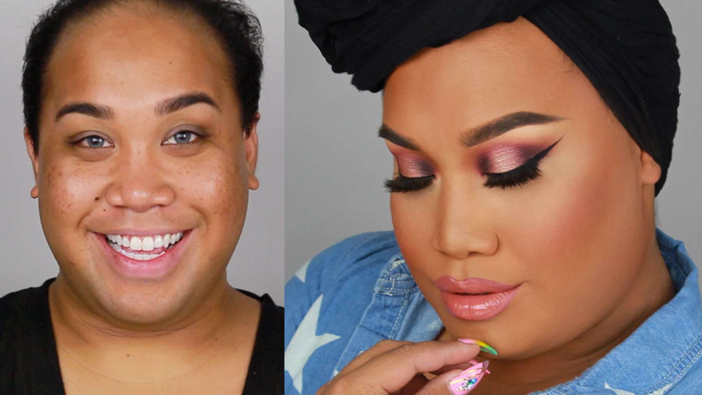 MANNYMUA MAKEUPGEEK PALLETE SMOKEY EYE TUTORIAL | PatrickStarrr