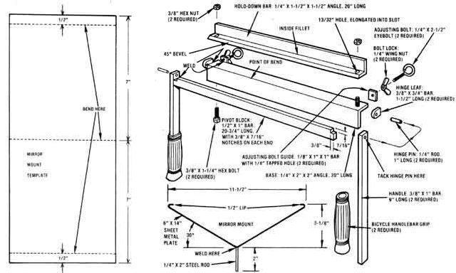 Sheet Metal Folder Plans Google Search Metalloobrabotka Instrument Masterskaya