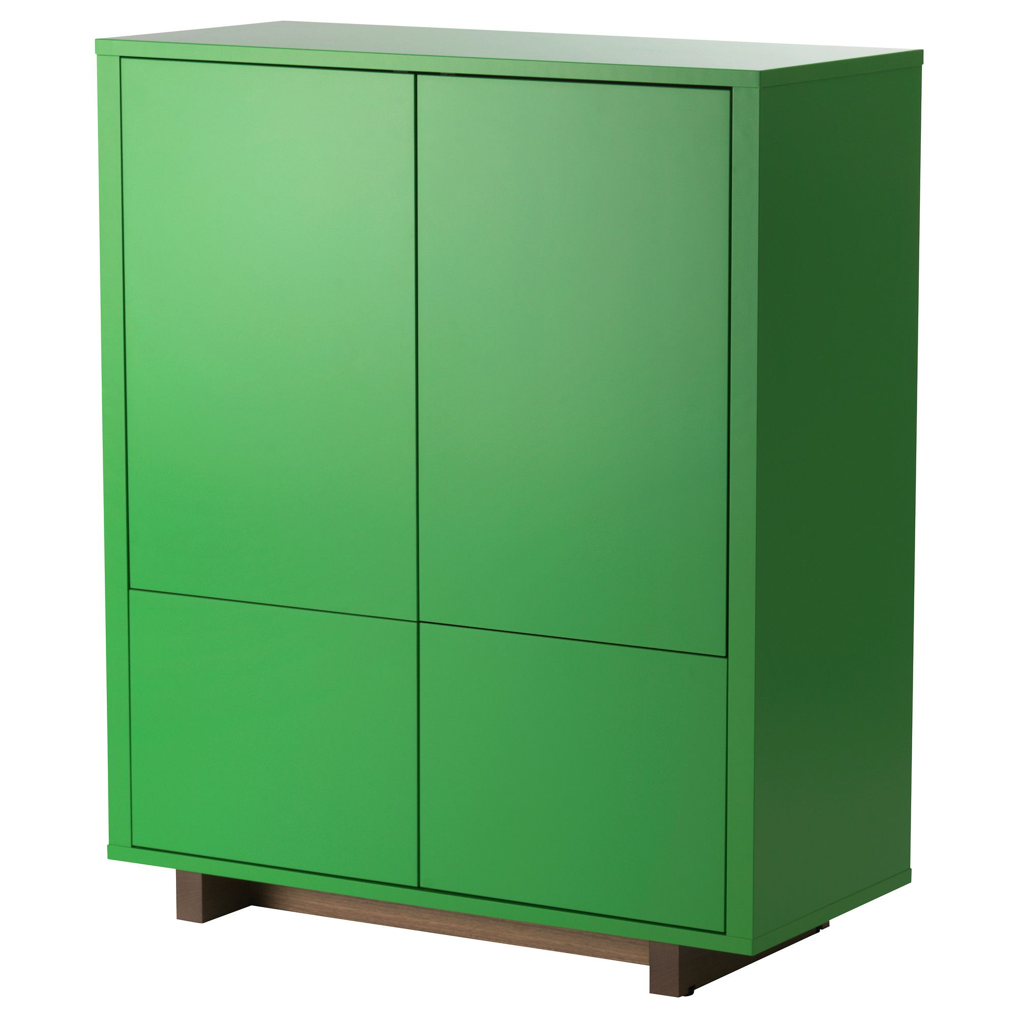 Mobili Bassi Cucina Ikea stockholm mobile con 2 cassetti - impiallacciatura di noce