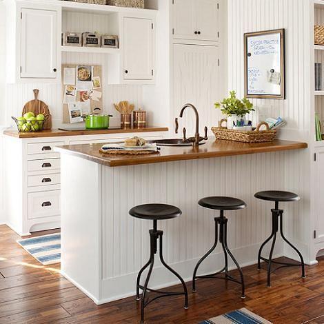 UNA ENCIMERA DE MADERA PARA LA COCINA | Kitchens, Ideal house and ...