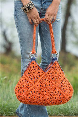 Delia Crochet Bag #crochetmotif