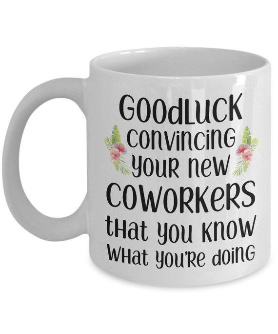 ab9ab16950e Goodluck funny coworker mugs gifts best coffee tea cup friend Goodbye  Leaving Farewell Going Away me