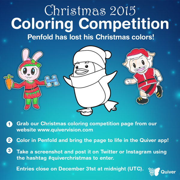 Quivervision On Twitter Christmas Colors Quiver Penfold