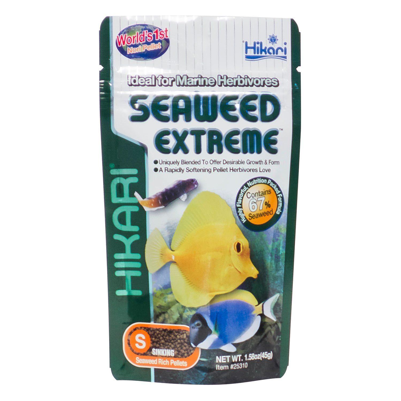 Hikari Seaweed Extreme Floating Algae Pellets For Smaller Marine Herbivores Petco Hikari Fish Food Herbivores Fish Recipes