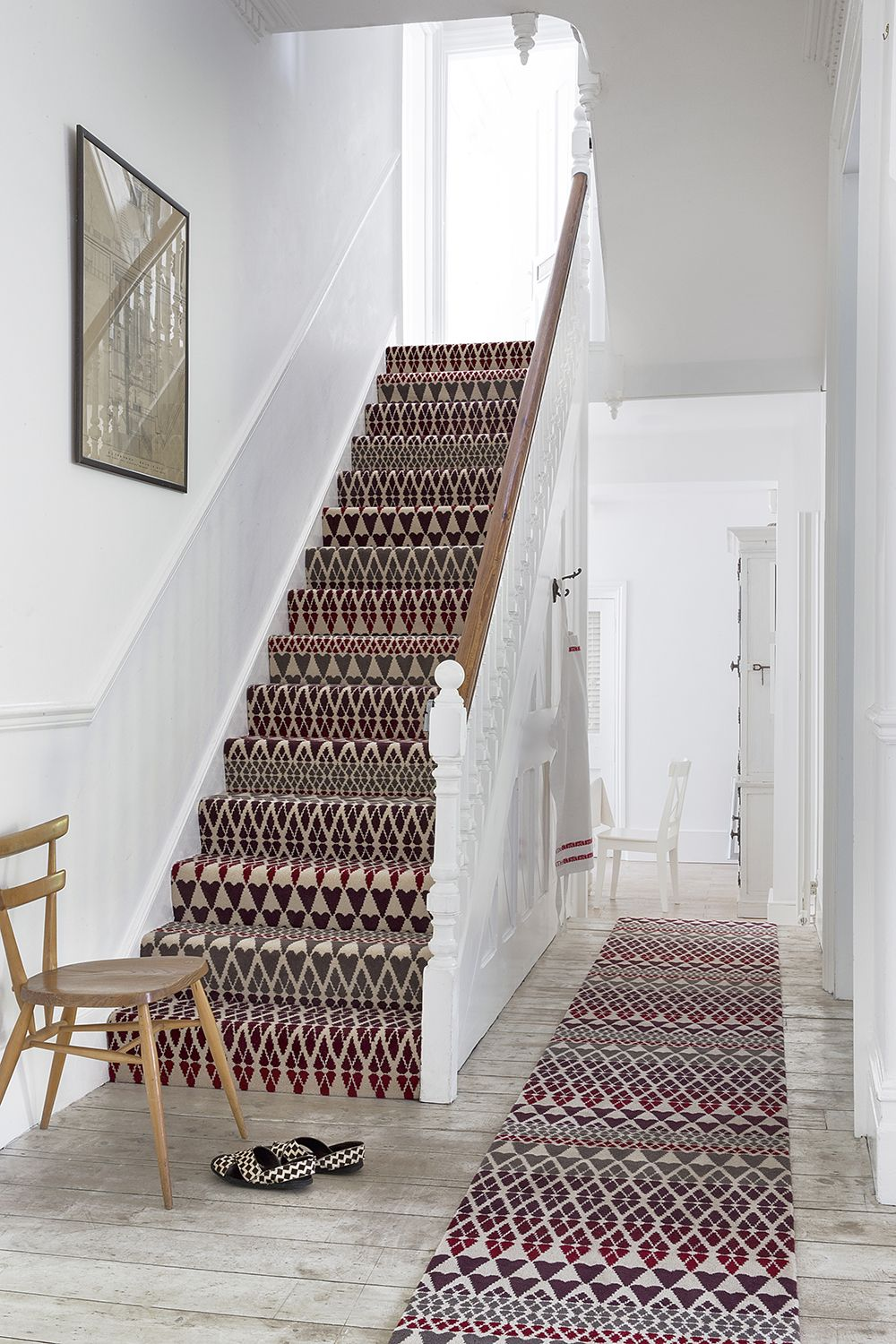 Attractive LR_lifestyle_runner_carpet_designer_margo_selby_7212_Quirky_B_Wool_Fair_Isle_Reiko