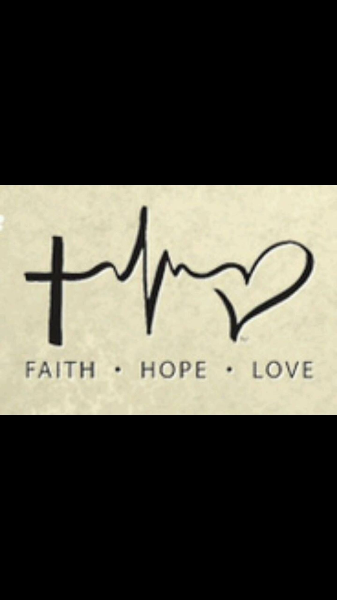 Faith hope love hebrew