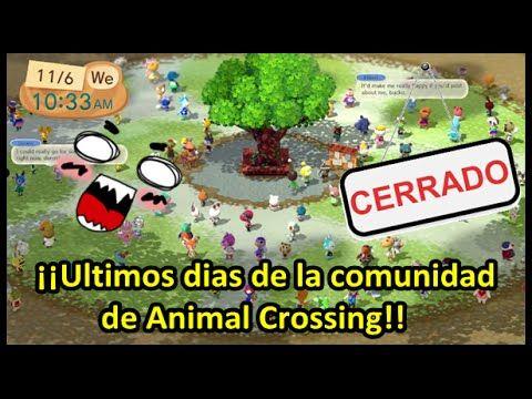 CIERRAN LA COMUNIDAD ANIMAL CROSSING PERO HABRÁ NOTICIAS
