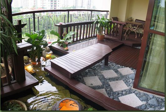 Choosing the Nice Balcony Design: Balcony Design With Japanese ...