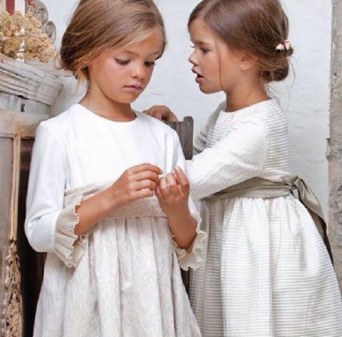 Para las futuras casaderas Ideas de vestidos para esos pequeños