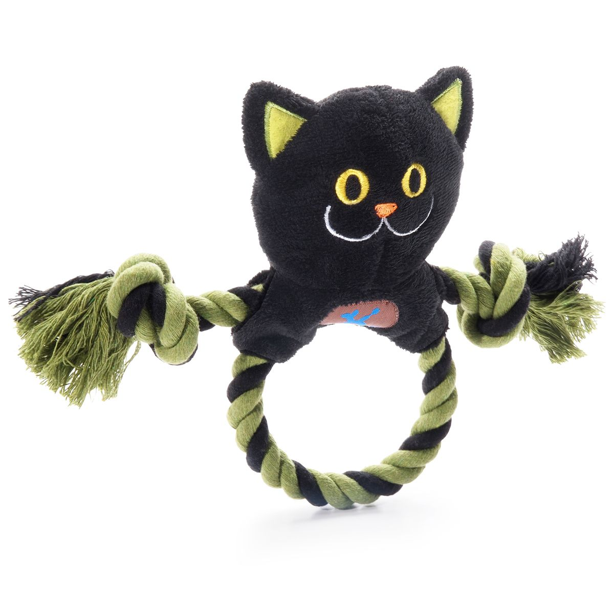 Halloween Ring Toss Dog Toy Black Cat Dog Toys Dog Halloween