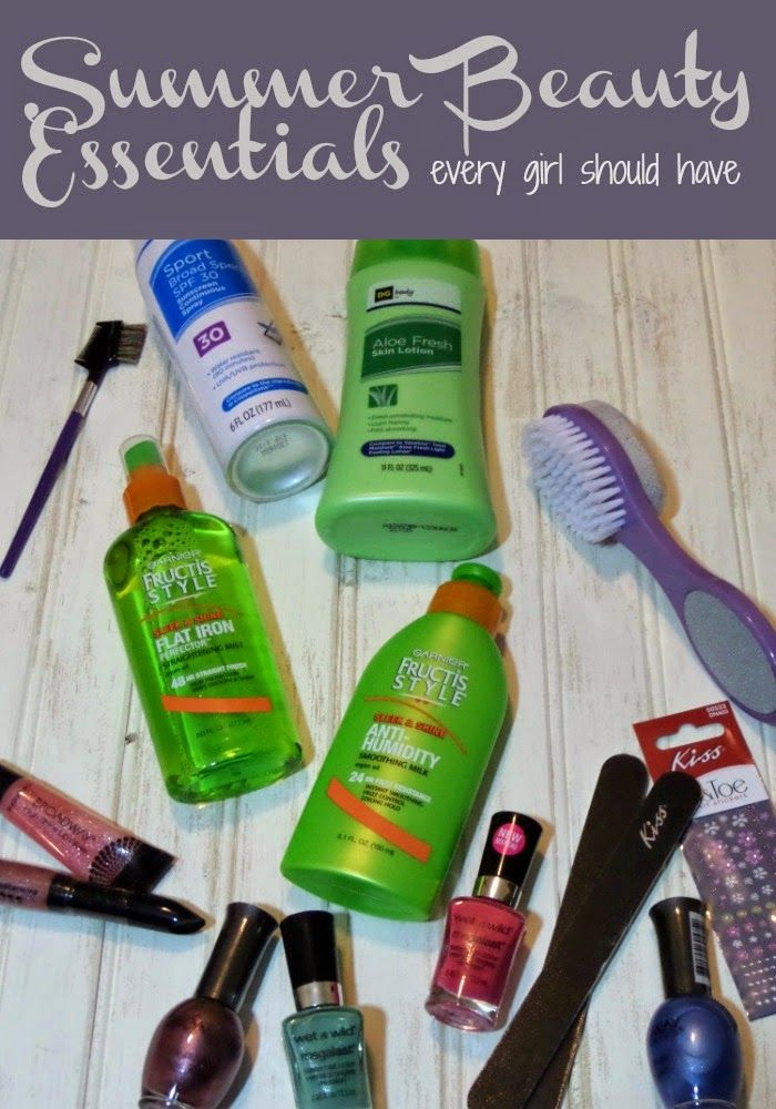 Outnumbered 3 to 1 Summer Beauty Essentials to Kick Off