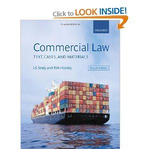 Commercial Law Text Cases And Materials Law Books Books Used Books