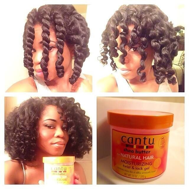 Chunky Twist Out With Cantu Twist And Lock Gel - http://www ...