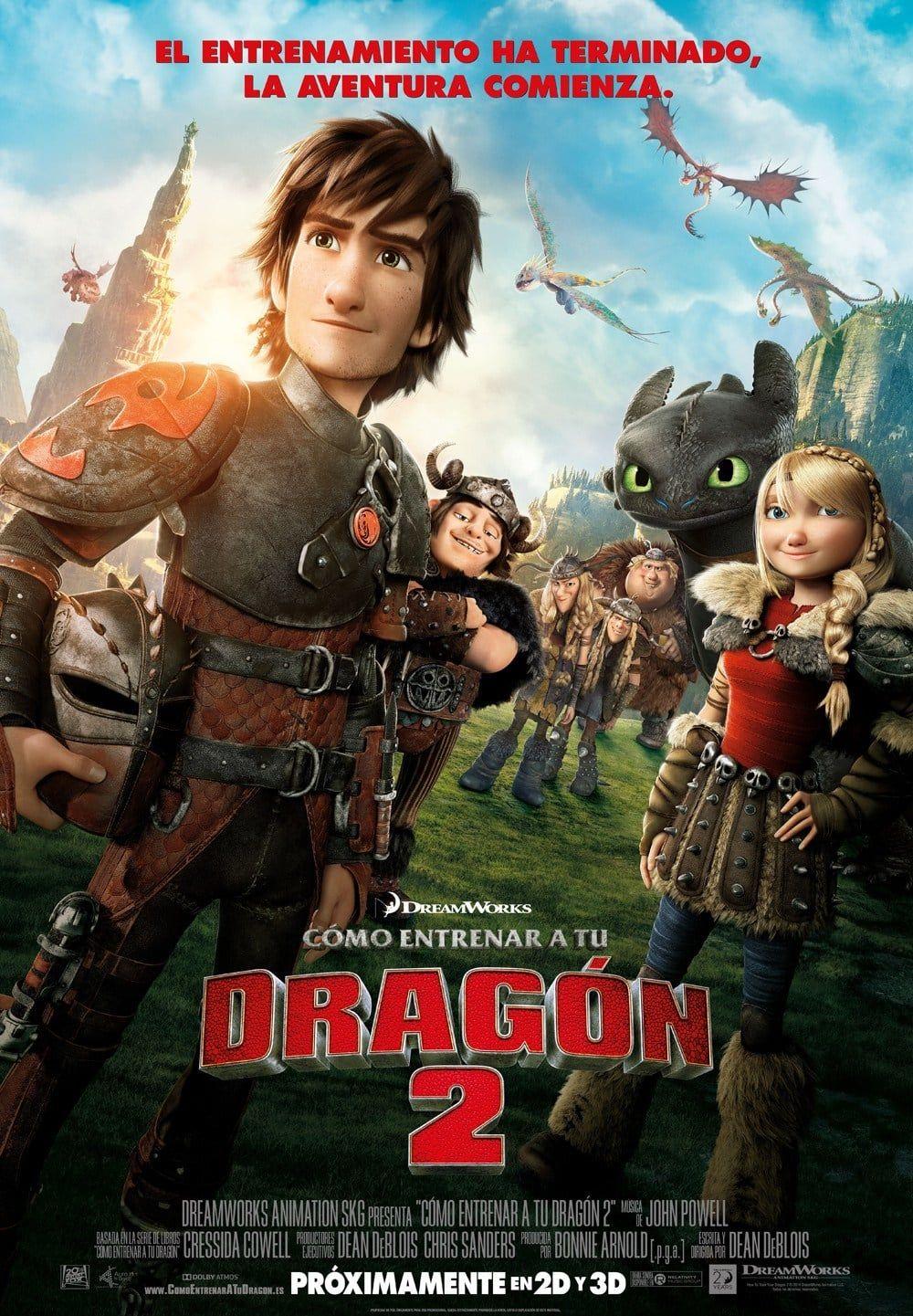 Han Pasado Cinco Anos Desde Los Sucesos Que Llevaron A Hiccup A Conseguir Entrenar A Su Dragon How Train Your Dragon How To Train Your Dragon Animated Movies