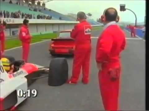 Senna Mclaren F1 Car Vs Road Car Vs Sports Car Youtube Lettern