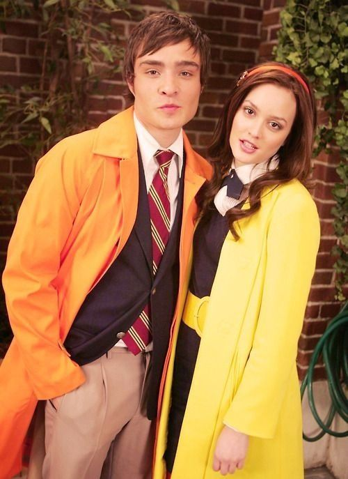 Ed Westwick and Leighton Meester - Chuck Bass and Blair Waldorf