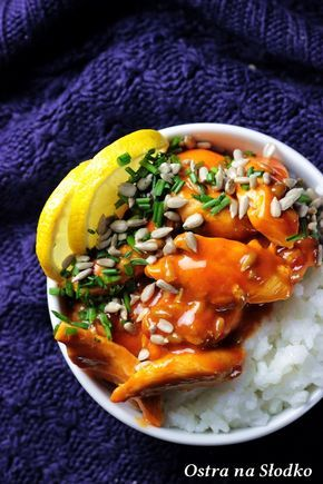 Kurczak W Slodkim Sosie Chili Z Mlekiem Kokosowym Meat Dinners Asian Recipes Keto Recipes Dinner