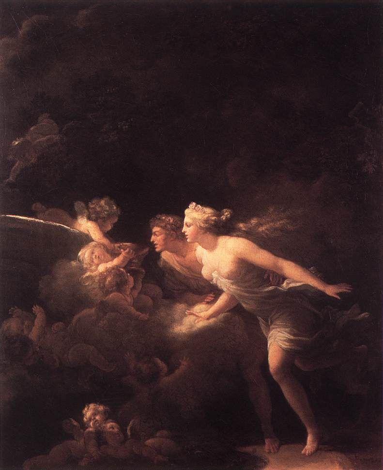 De Liefdesbron ~ 1785 ~ Olieverf op doek ~ 64 x 51 cm. ~ The Wallace Collection, Londen