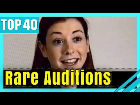 Most Famous Celebrity Audition Tapes Acting Tips Pinterest - Rare celebrity auditions famous