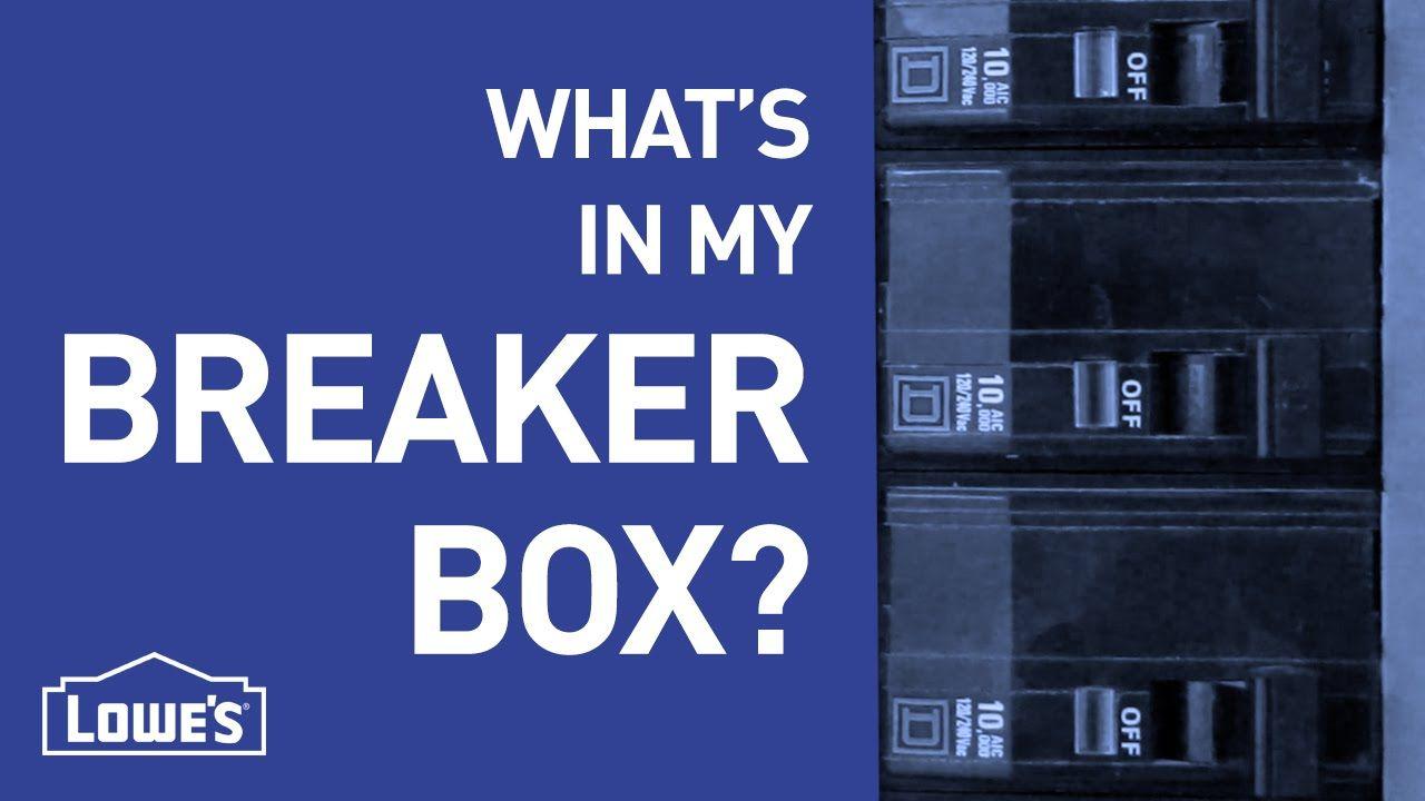 What's In My Breaker Box? DIY Basics Breaker box, Diy