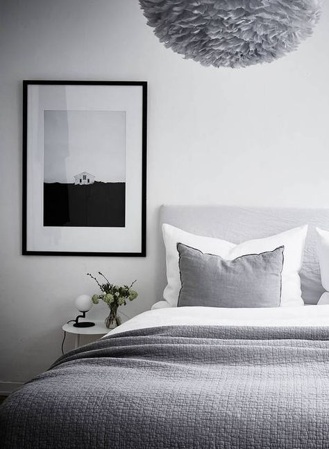 22++ Grey and white bedroom ideas uk info cpns terbaru