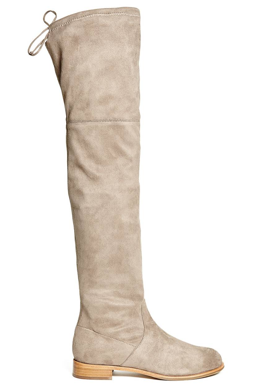aba320533 Luxe in suede the Kara Boot comes In black and beige