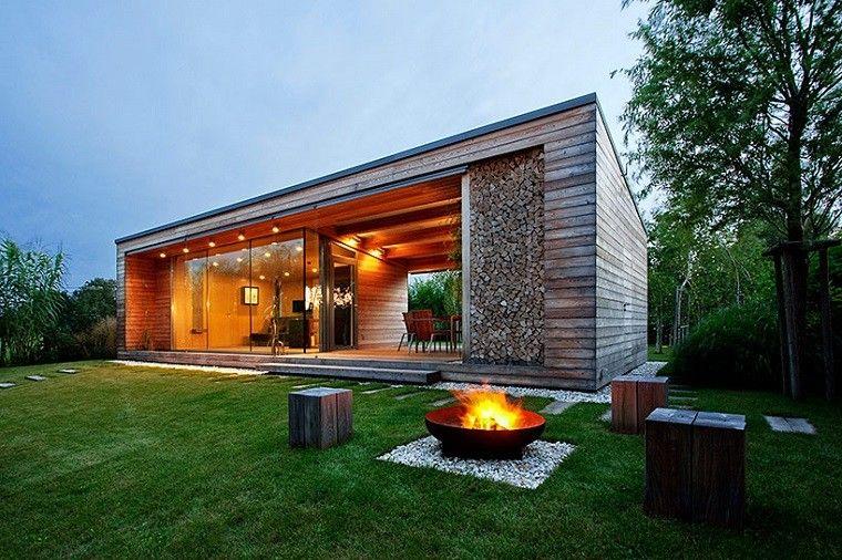 Hemos seleccionado modelos de casas de campo construidas en terreno