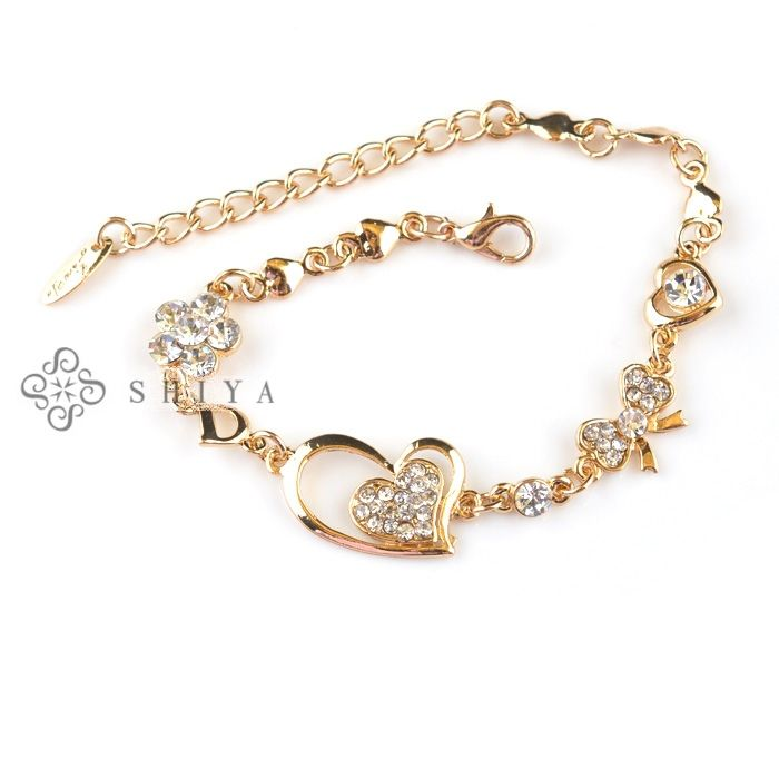 simple gold bracelets for girls - Google Search | hearties <3 ...