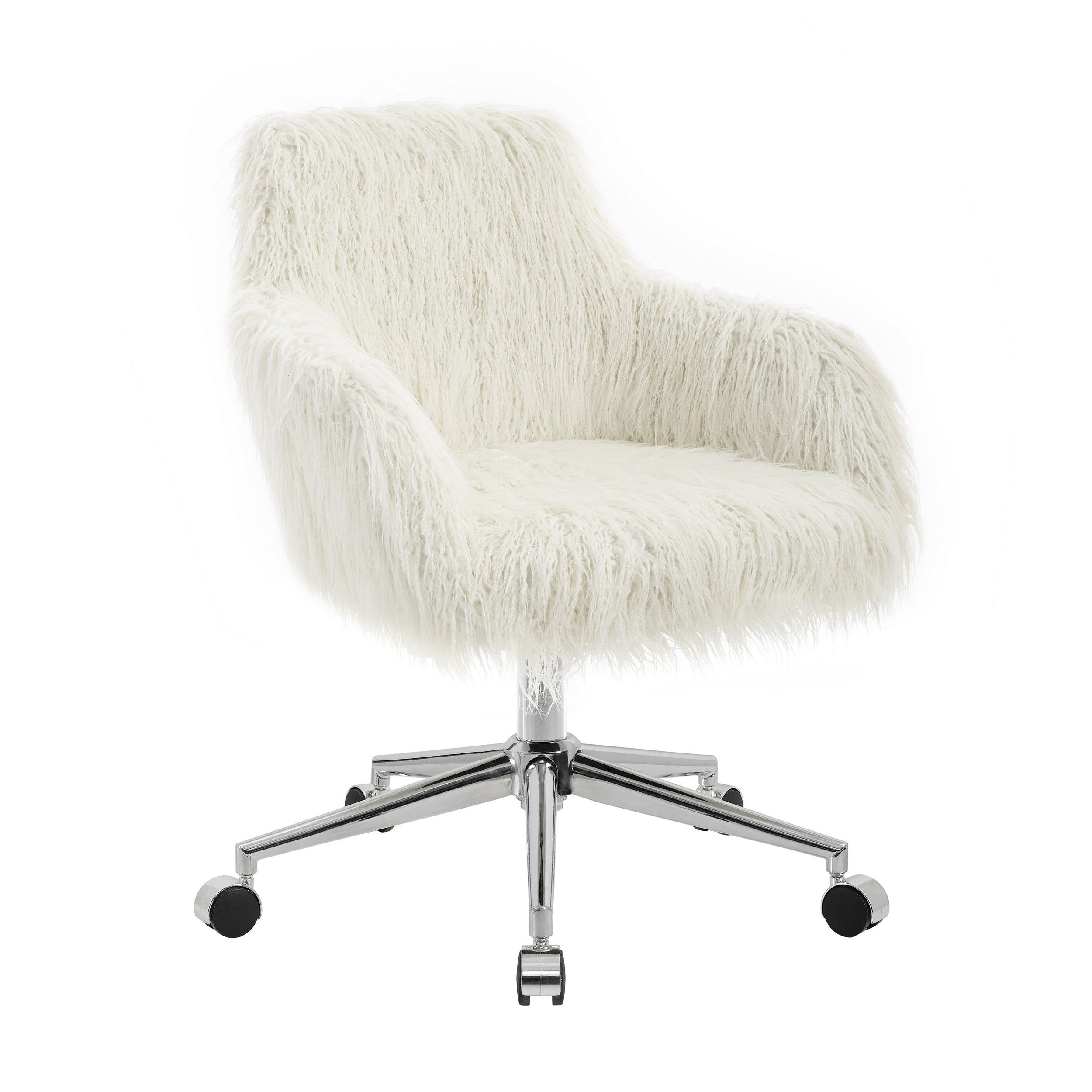 Lowest Price On Linon Home Decor Products Inc Fiona Office Chair OC084WHT01U Shop Today