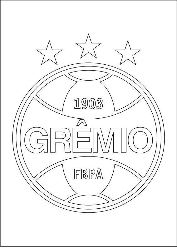 Desenhos Imprimir Colorir Gremio Jpg 567 794 Simbolo Do Gremio