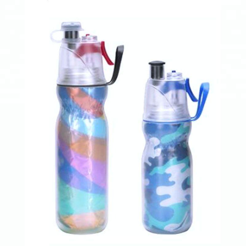 500ml Bpa Free Plastic Bottles Mist Spray Water Bottle Wholesale Custom Logo In 2020 Bottle Water Bottle Bpa Free Plastic