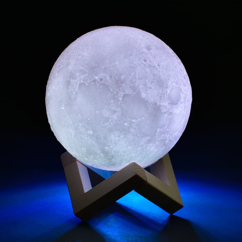Colour Changing 3d Moonlight Luna Light Add A Touch Of Relaxation Light And Style To Your Bedroom With This Mes Novelty Lighting Night Light Lamp Night Light