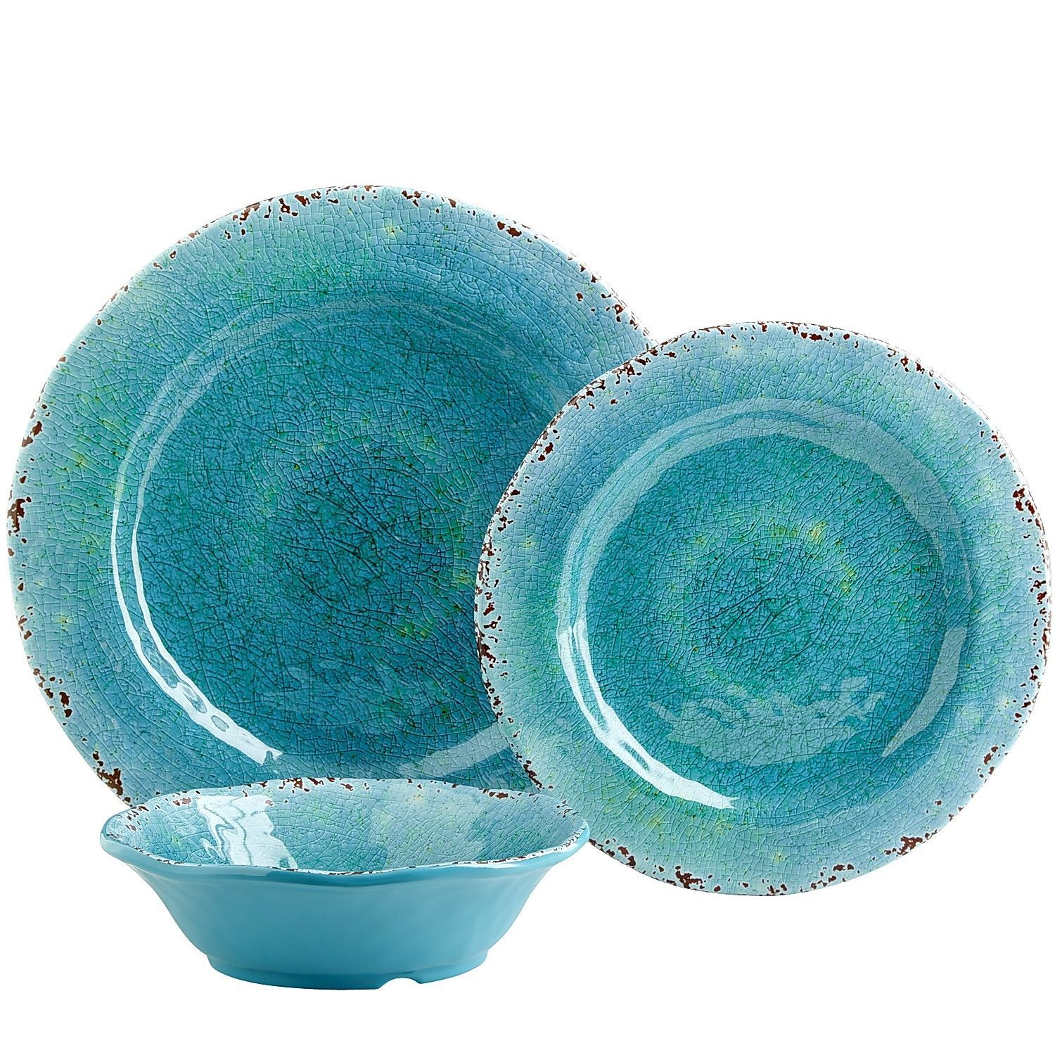 turquoise and red dinnerware Google Search DINING ROOM