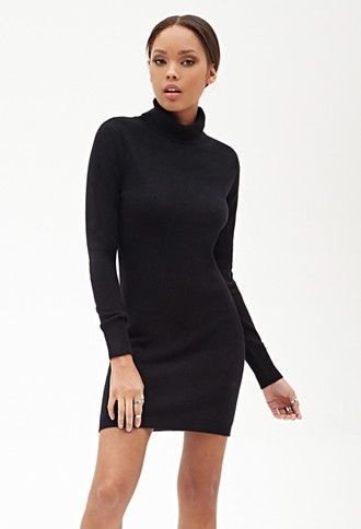 94d9650a4 Turtleneck Sweater Dress | Forever 21 - 2000067020 | Wish List ...