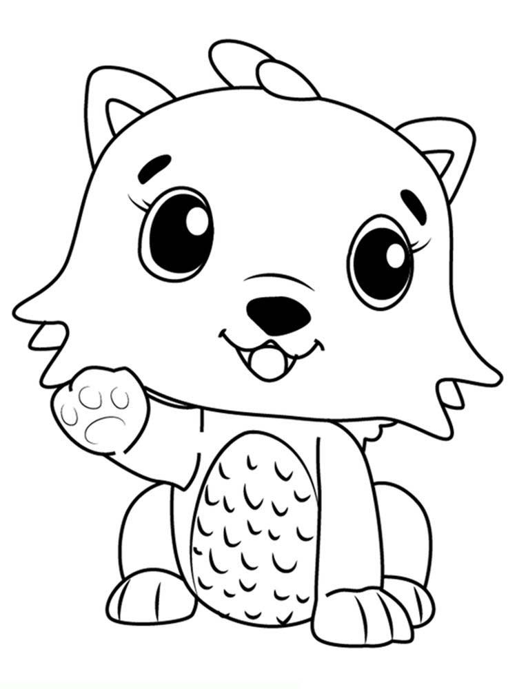 For Hatchimals Coloring Pages Super Coloring Pages
