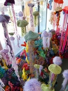 crocheted coral reef project, Florida