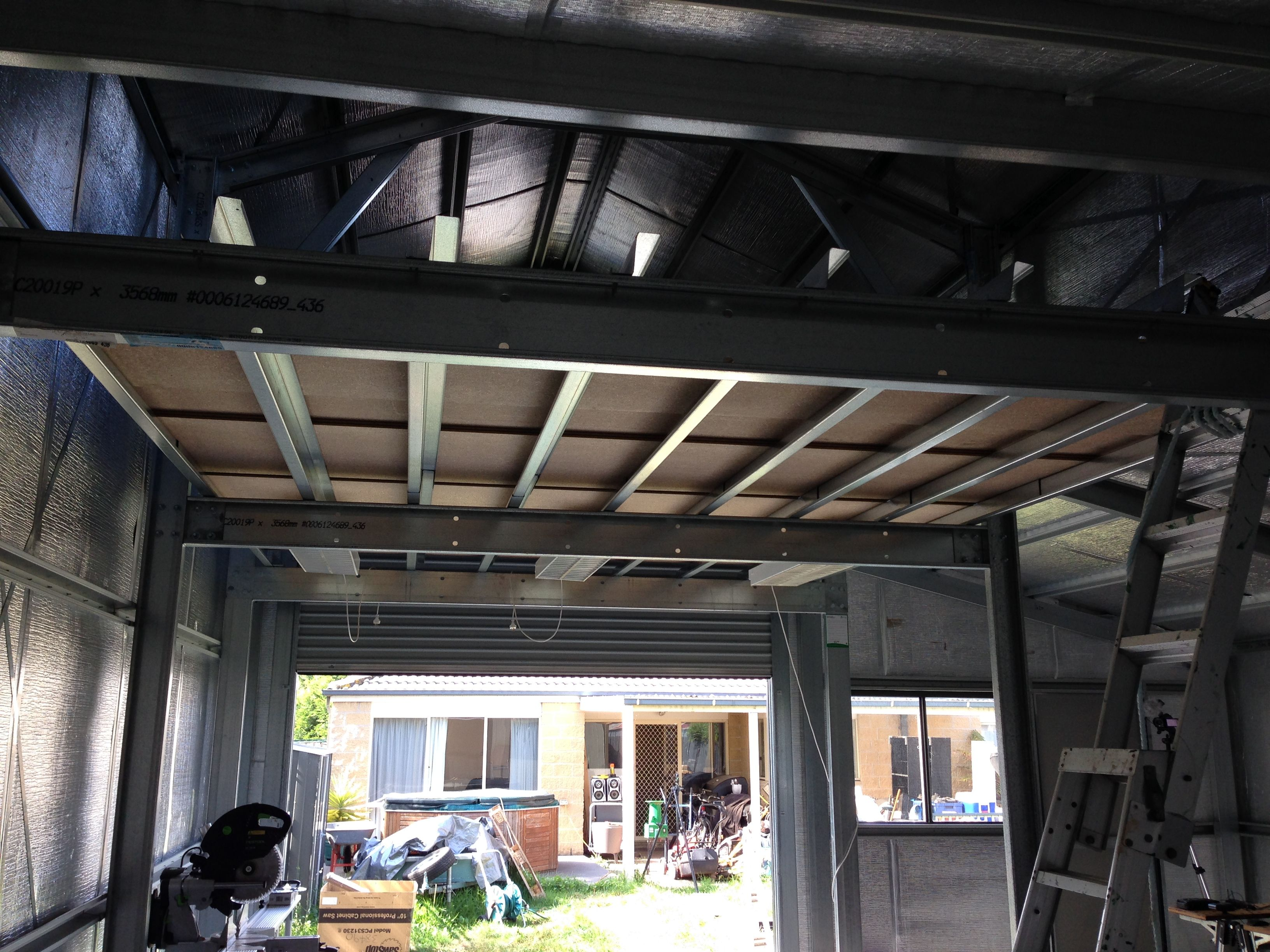 Image Result For Wood Mezzanine Construction Plan