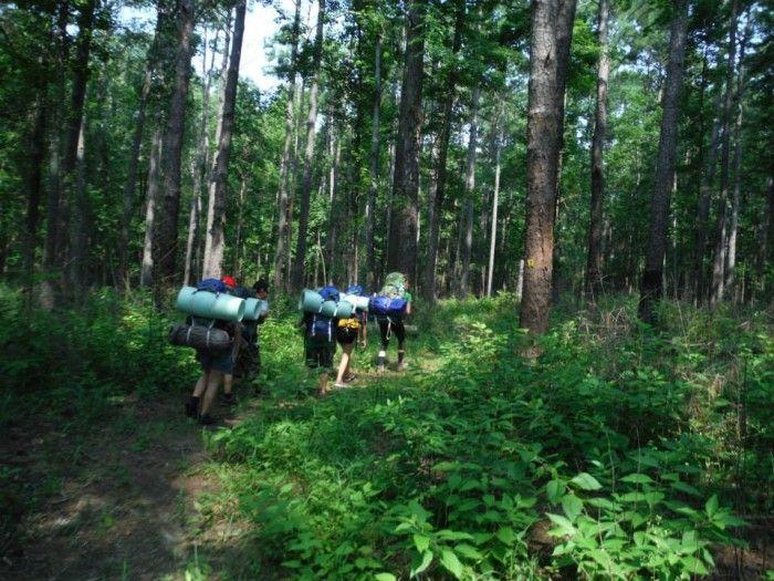 Merveilleux 4) Sabine National Forest (Hemphill)