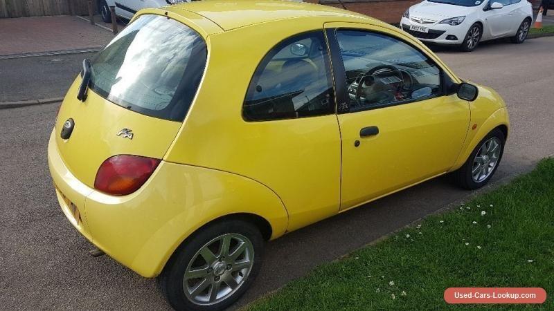 Car For Sale Ford Ka Millennium Edition