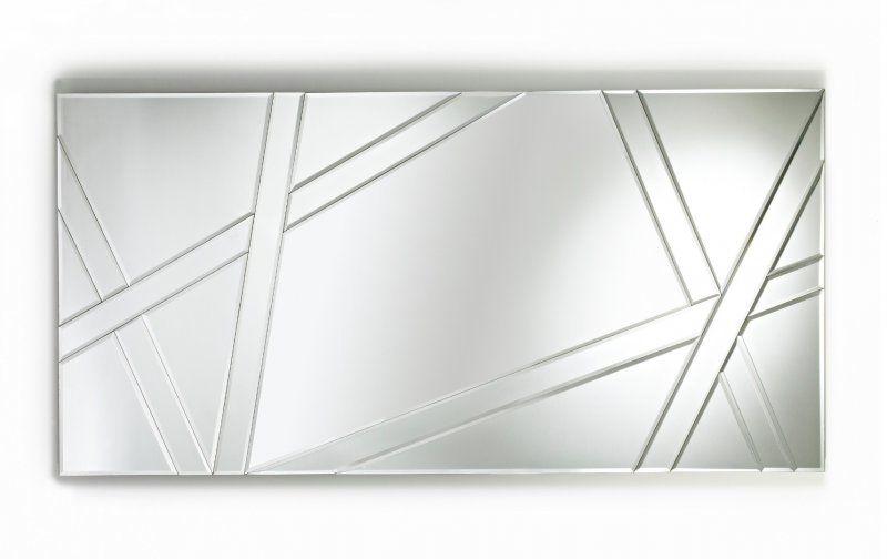 SIGHT Miroir rectangulaire en verre biseauté 869€ Déco
