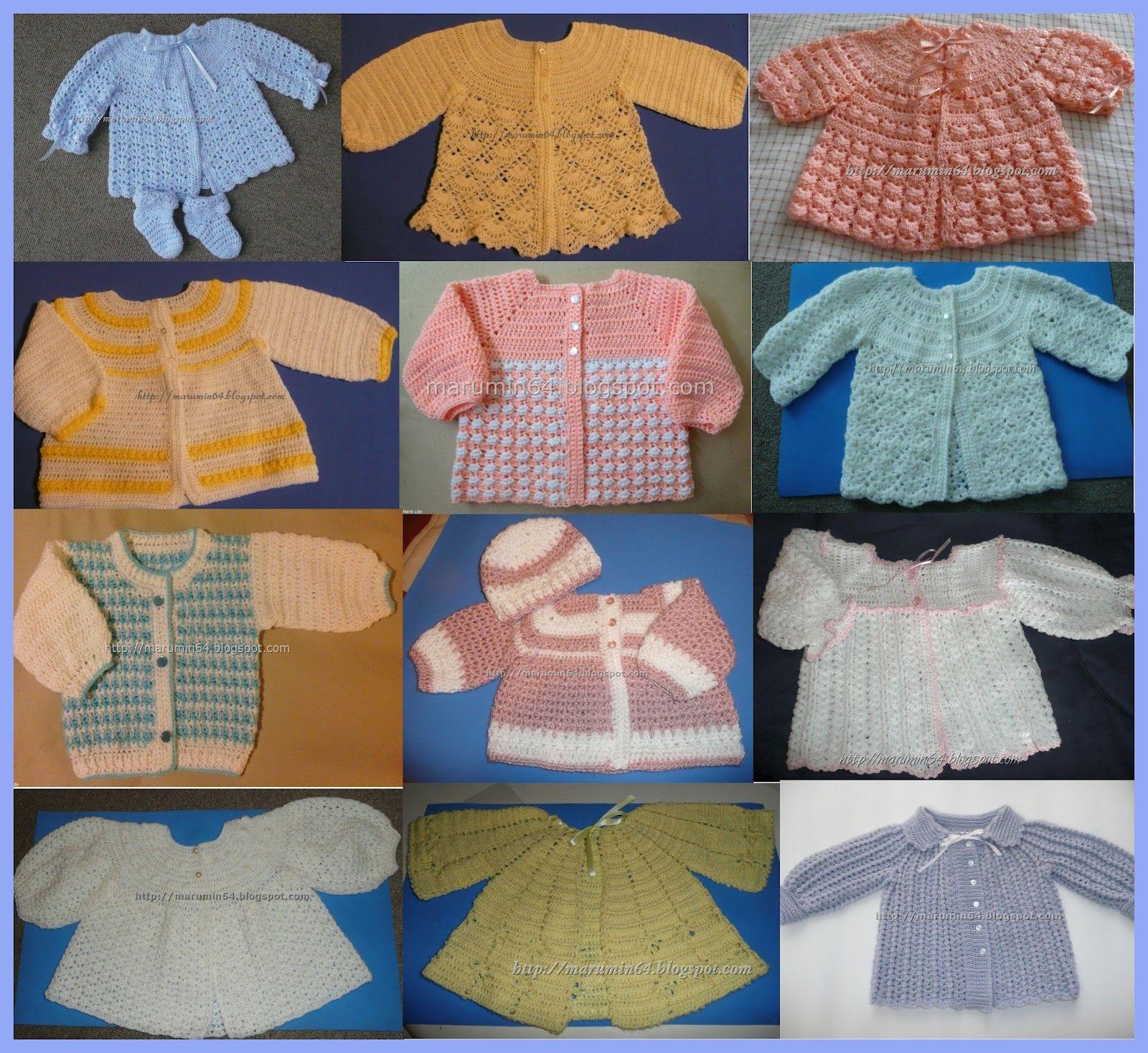 Marumin Crochet | Baby Crochet | Pinterest | Chaquetas, Me gustas y ...