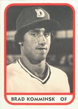 1981 Tcma Durham Bulls 10 Brad Komminsk Front 1981 Baseball Cards