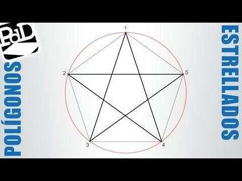 Polígono Estrellado De 5 Puntas Pentágono Estrellado Polígonos Estrellados Estrellas Dibujos De Estrellas Poligonos Estrellados Como Hacer Un Pentagono