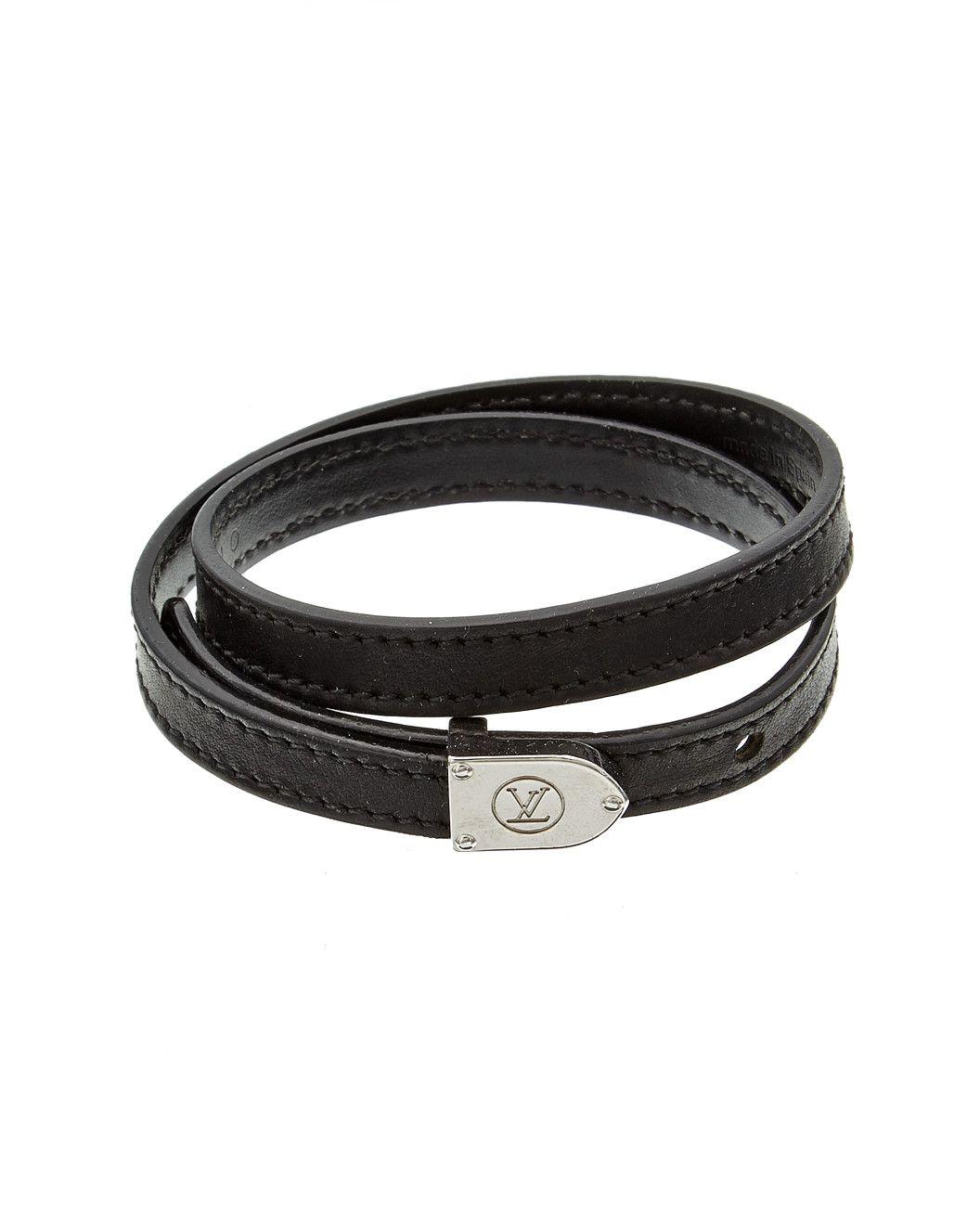 Spotted This Louis Vuitton Leather Wrap Bracelet On Rue La La Shop