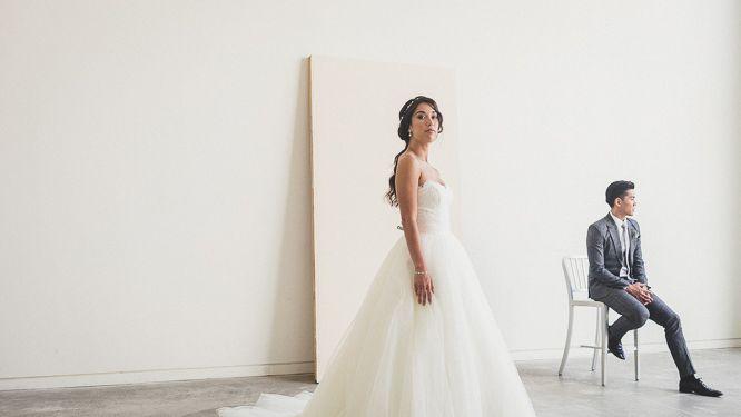 minimalist wedding photography