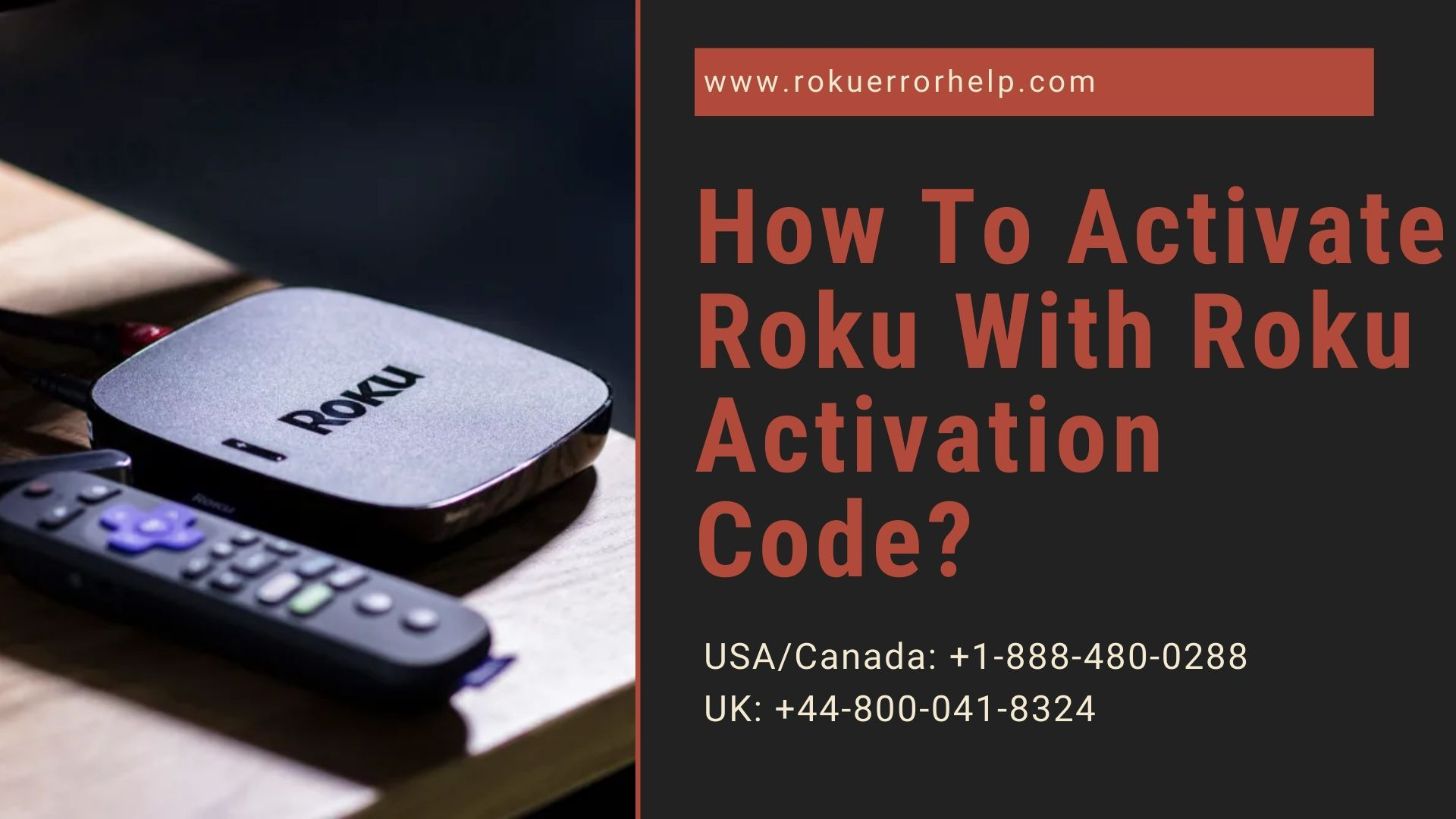 How To Activate Roku With Roku Activation Code Coding
