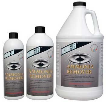 "MicrobeLift Ammonia Remover Gallon by Ecological Laboratories. $54.57. 1 Gallon size Bottle Treats 11,520 Gallons. Removes ammonia, chlorine, and chloramine. ""Neutralizes Toxic Ammonia, Chloramine & Chlorine! MICROBE-LIFT AMMONIA REMOVER gives Beneficial Bacteria time to multiply and recover. May be used: At start-up When making water changes When replacing lost water due to evaporation or when your Garden Pond is overstocked with too many fish. Neutralizes Residual Chlorin..."