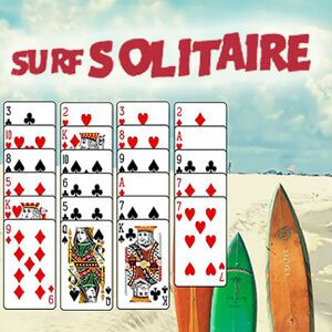 Play Our Summer Version Of The Classic Free Cell Card Game Surf S Up Free Cell Card Game Games Solitaire Games