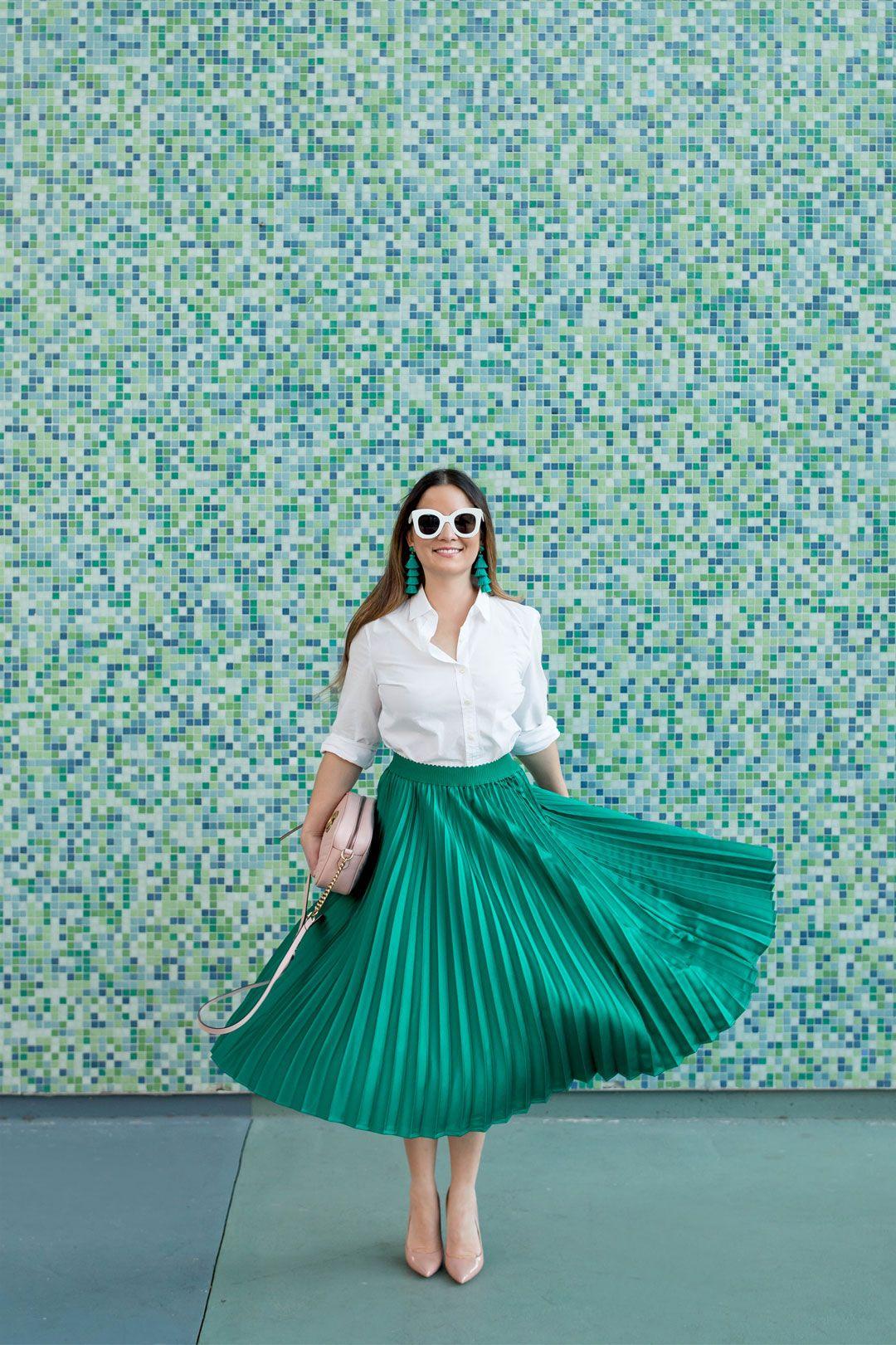New Look Go Set Satin Jaq Midi Skirt Gonna Donna