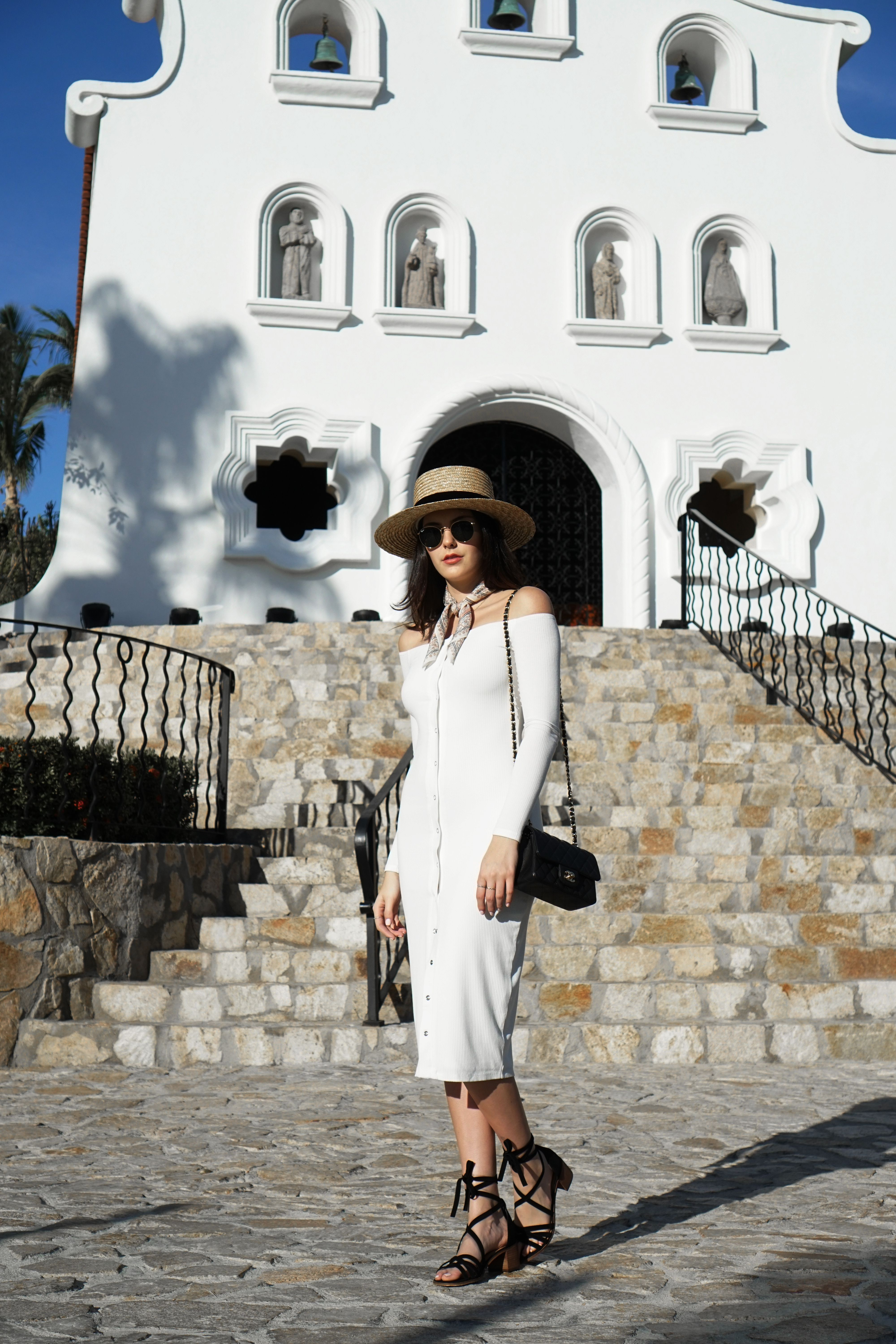 0756c4c8a4f Julia Friedman wearing a Privacy Please dress from Revolve Clothing